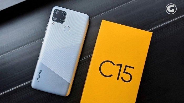 Realme C15 Quad Camera Rilis, Baterai 6.000 mAh Kuat 57 Hari, Harga Mulai Rp 2 Juta, Ini Spesifikasi