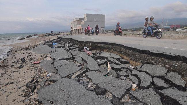 Penelitian Jepang menduga pola patahan seperti Inchworms memicu gempa bumi dahsyat supershear yang memunculkan tsunami di Palu, Sulawesi tahun 2018 lalu.