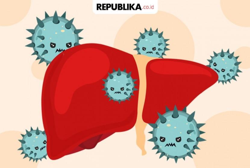 Hepatitis A ilustrasi. Penyakit hepatitis merupakan salah satu penyakit pembunuh diam-diam (silent killer).