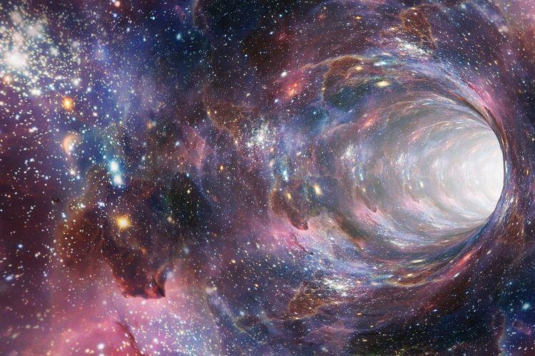 Misteri Si Dari Pusat Galaksi di Sagitarius A, Diduga Dari Lubang Hitam Raksasa