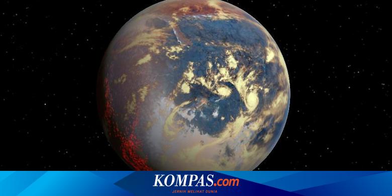 Planet paling ekstrim di luar tata surya, Bumi ternyata memiliki lautan lava