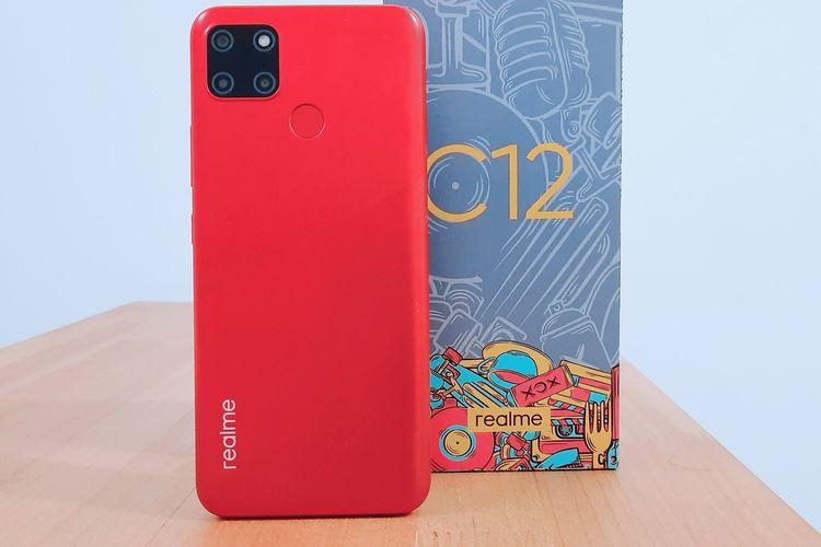 Review Harga Realme C12 Spesifikasi dan Isi Unboxing Dalam Kemasannya